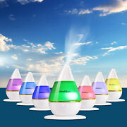 7 Colors Changing Led Ultrasonic Humidifier Cool Air Diffuser Purifier Home Use