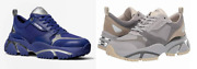 Men's Ethan Mesh And Suede Trainers