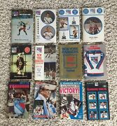 New York Rangers Blue Book Media Guide And Record Book