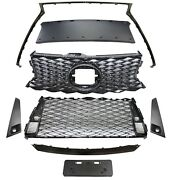 Front Grille For Lexus Is200t Is250 Is350 Is300 17-18 F Style W/ Sensor Hole