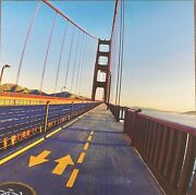 Golden State Bridge 11 X 11 Custompicture Canvas With Frame. Wall Art By Wash.