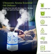 1.5l Ultrasonic Aroma Humidifier Air Diffuser Purifier Atomizer 7 Color Changing