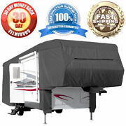 26and039-29and039 All-weather Rv Motorhome Trailer Outdoor Cover 5th Wheel Toy Hauler
