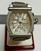 Charriol Geneve Colvmbvs Diamonds Swiss Made Stainless Steel Water Resistant