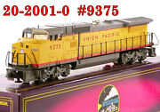 Mth 20-2001-0 Union Pacific Up Ge Dash-8 40 9375 W/horn 1993 C9