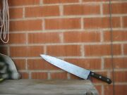 1950s Vintage 12 Blade Foster Bros. 3xl Thin Carbon Chef Knife Usa