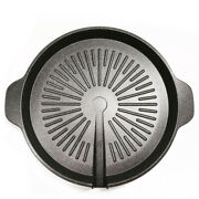 Stove Top Grill - Smokeless Indoor Nonstick Korean Bbq Griddle Pan / Grill