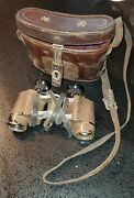 Wwii Japanese Binoculars Signed Collectible Antique