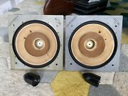 1 Pair - Lowther Pm6s Mk1 Andnbsp15 Ohms - Alnico Magnets
