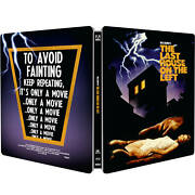 The Last House On The Left Zavvi Exclusive Limited Edition Steelbook Blu-ray New