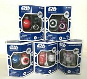 Star Wars Galaxy's Edge Trading Outpost Droid 3.75 Target Exclusive Set Of 5