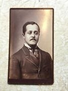 Xxx Rare 1800 's African American Handsome Man Cabinet Card Photo Pittsburgh