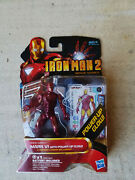 Marvel Universe 3.75 Iron Man 2 Movie Series Mark Vi Red Variant Extremely Rare