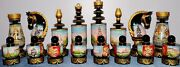 Art Painting Exclusive Chess Set, Chess Pieces, Hand-painted Acrylic