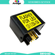 7 Pin 12v 0.05-10a Indicator Led Flasher Relay Fit Suzuki C109rt Vlr1800 08-2009