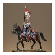 Polish Lancer On Horseback Painted Tin Toy Soldier Pre Sale | Art Quality