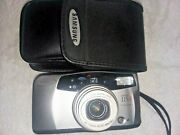 Samsung 115a 35mm Camera W/case And New Energizer Lithium Batteries Exp12/2028