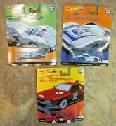 Lot Of 3 Hot Wheels Silhouettes Real Riders Cars - Nissan Corvette Porsche New