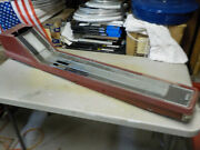 65 65 Mustang Floor Console Non Ac Air Conditioning Red 1965 1966