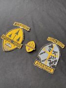 Rare Lot Of Early 1960s Philippines Special Forces Badge + Patches