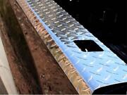 Bed Rail Caps For Dodge Ram 2500 Long Bed 03-09 Polished Treadbrite With Holes