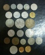 Cheap And Rare Bulgaria Lot Of 23 Coins 1888-2000 Including Silver