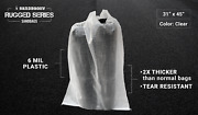 Large Sandbags 31 Inch X 45 Inch - Contractor Trash Bags Garbage Dumpster Demo