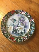 Lena Liu's Hummingbird Treasury Collection - Signed Plates - 4 Different Choices