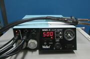 Weller Wmd-3 Multi-digital Rework Station With Hap1 Hot Air Pencil X 2