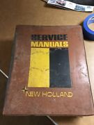New Holland Service Manual Collection - Speedrower Bale Wagon Servicemanandrsquos Hbk