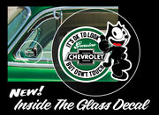 Chevrolet Look But Donand039t Touch Felix Inside The Glass Decal. New Design 3 Pack