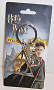 Harry Potter Deathly Hallows Keychain Key Ring Chain Fob Holder Licensed New