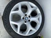 """Bmw Factory X5 And X6 Front 1,e10x20"""",2,e11jx20""""rear Rim Wheel Pre-owned 2003-2006"""