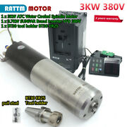 3kw Water Automatic Tool Changer Spindle Motor 24000rpm Bt30 Atc 220v/380v And Vfd