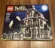 Lego 10228 Monster Fighters Haunted House New Factory Sealed 2064 Pcs Ages 14+