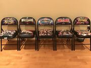 Wwe Wrestlemania 30 31 32 33 34 Front Row Chairs. Excellent Conditions.