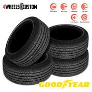 4 X New Goodyear Eagle Rs-a 255/45r20 101v Tire