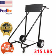 Outboard Boat Motor Stand Carrier Cart 315 Lbs Dolly Storage Pro Heavy Duty 1pc