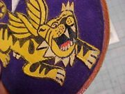 Orig Wwii Avg 23rd Ftr Gp Flying Tigers Triple Ace 14th Af Flight Jacket Patch
