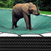 Rectangle Loop-loc Pool Safety Cover - 15and039 X 30and039 Black Mesh - Llm1277