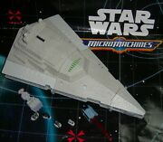 Star Wars Micro Machines Star Destroyer Space Fortress Playset Admiral Ozzel