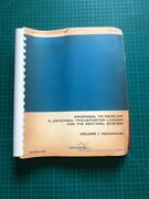 1968 Douglas Missile And Space Systems Division Technical Manual Nasa