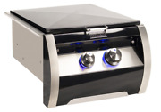 Fire Magic Black Diamond Power Side Burner With Stainless Steel Cooking Grid