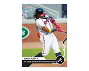 2020 Topps Now 216 Ronald Acuna Jr. 18th Career Leadoff Hr Sets Braves Record