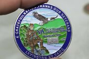 U.s. Department Of Veterans Affairs Morehead Clinic Challenge Coin