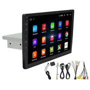 1din 9and039and039 Android Car Stereo Radio Player Gps Wifi Up Down Adjustable Multimedia