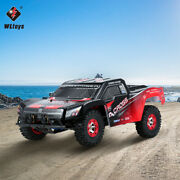Wltoys 12423 50km/h Speed Short Course Truck 1/12 2.4g 4wd Rtr Rc Car Xmas E0n9