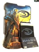 Rare Halo 3 Master Chief Standee Game Store Counter Display Xbox Poster Type