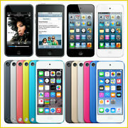 Apple Ipod Touch 2nd, 3rd, 4th, 5th, 6th, 7th Generation / From 8gb - 256gb Lot