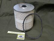 Willys Mb Ford Gpw Oil Filter Element. Military Junior Drop In Filter. M38 M37.